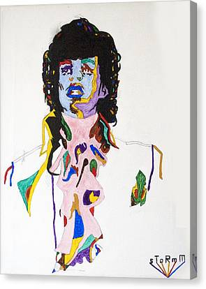 Prince Purple Reign Canvas Print