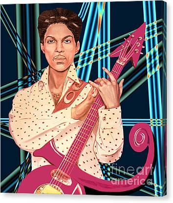 Prince Unpronounceable Symbol Canvas Print by Gary Keesler