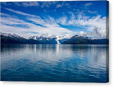 Canvas Print featuring the photograph Prince William Sound View by  Phil Stone