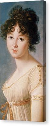 Princess Aniela Angelique Czartoryska Nee Radziwill Canvas Print