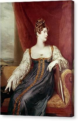 Princess Charlotte Canvas Print by Granger