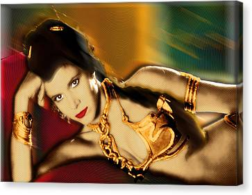 Princess Leia Star Wars Episode Vi Return Of The Jedi 1 Canvas Print