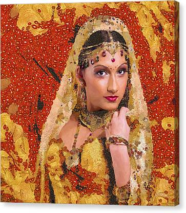 Princess Of Spice Canvas Print