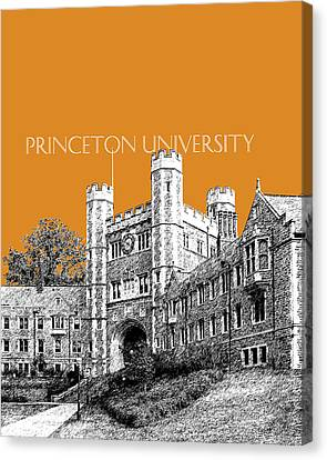 Princeton University - Dark Orange Canvas Print