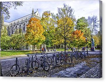 Princeton University Campus Canvas Print