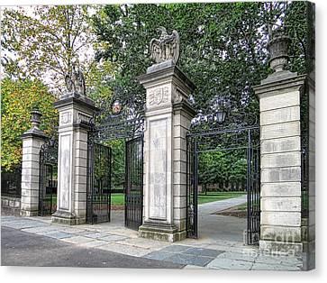 Nassau Canvas Print - Princeton University Main Gate by Olivier Le Queinec