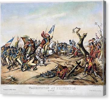 Princeton: Washington Canvas Print by Granger