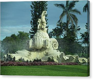 Canvas Print featuring the photograph Princeville II by Alohi Fujimoto