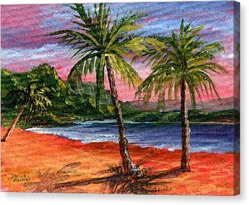 Princeville Kauai Canvas Print