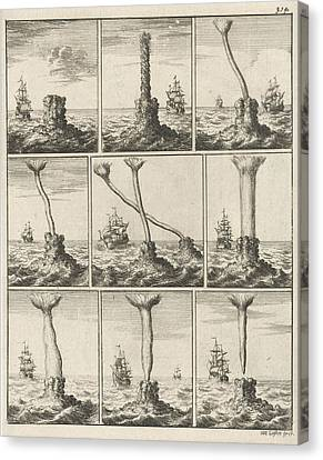 Print, Print Maker Jan Luyken Mentioned On Object Canvas Print
