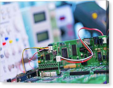 Printed Circuit Board Canvas Print