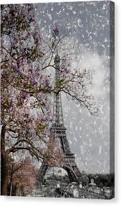 Printemps Parisienne Canvas Print