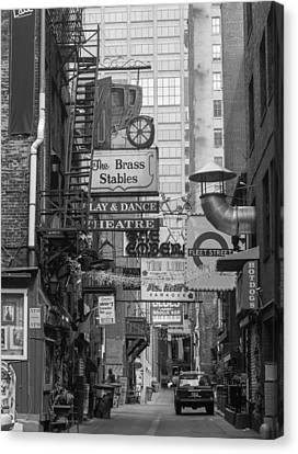 Printers Alley Nashville  Canvas Print