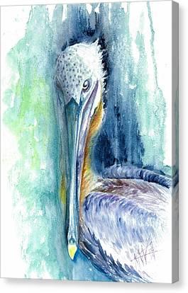 Priscilla Canvas Print