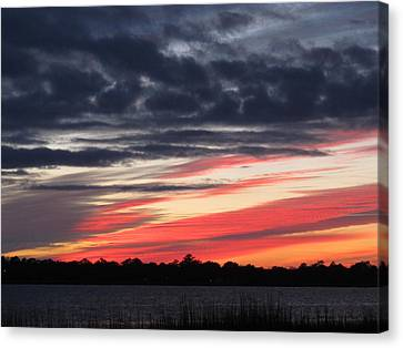 Canvas Print featuring the photograph Prism At Sunset by Joetta Beauford
