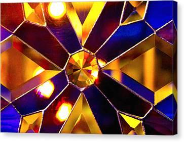 Prism Glass Spectrum Canvas Print by Karon Melillo DeVega