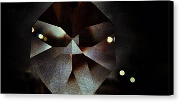 Prism Of The Darkness Canvas Print