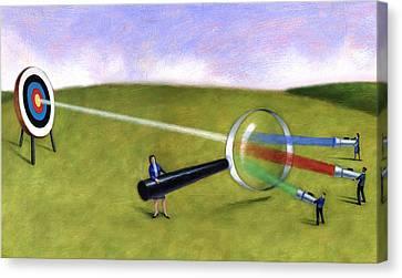 Prism Target Canvas Print