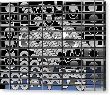 Prison 1 Canvas Print by Olubunmi Oluwadare