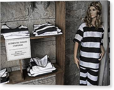 Prison Tour 2 - Fashion Statement Canvas Print by Steve Ohlsen