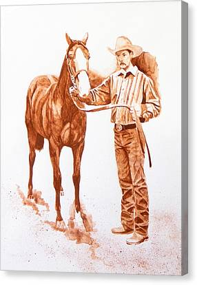 Pristine Angel Oklahoma Red Dirt Artwork Tm Canvas Print by Tanya Provines