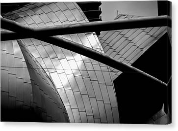Canvas Print featuring the photograph Pritzker Pavilion by James Howe