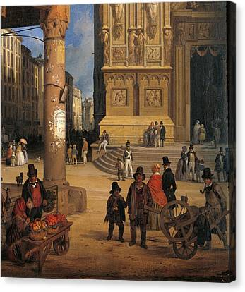 Private Collection. Detail. Cathedral Canvas Print