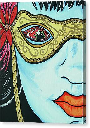 Private Eye Canvas Print by Lorinda Fore