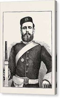 Private George Bryant, Champion Shot Of The British Army Canvas Print