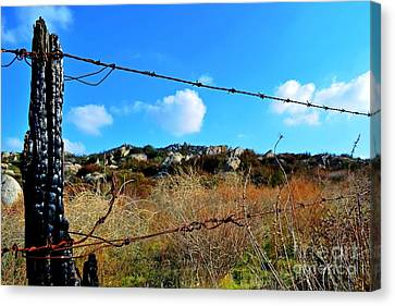 Private Property Canvas Print