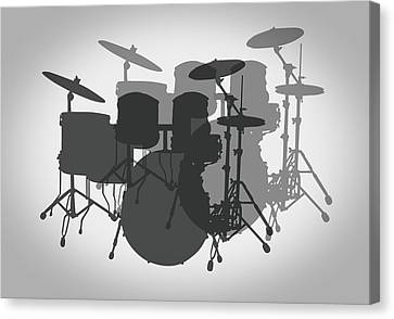 Pro Drum Set Canvas Print