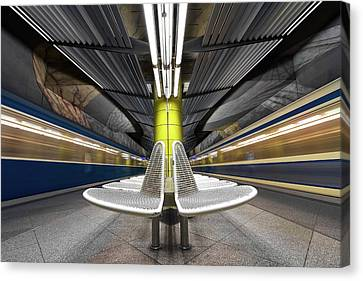 Ubahn Canvas Print - Pro Vocation by Joe Plasmatico