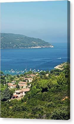 Procchio, Isola D'elba, Elba, Tuscany Canvas Print by Nico Tondini