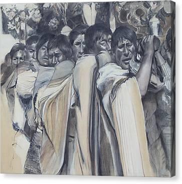 Procession Canvas Print by Terri Ana Stokes