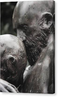 Prodigal In Bronze Canvas Print by Tim Childers