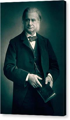 Professor Thomas H Huxley Canvas Print by Stanislaus Walery