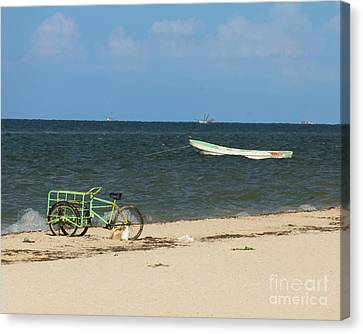 Progresso Bike Canvas Print