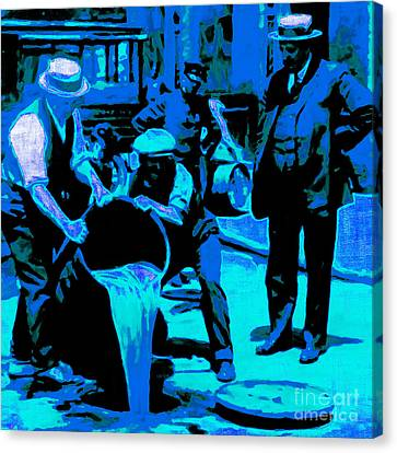 Prohibition 20130218m180 Canvas Print by Wingsdomain Art and Photography