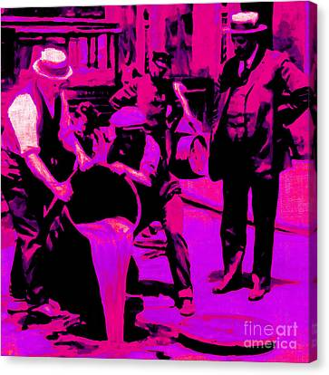 Prohibition 20130218m68 Canvas Print by Wingsdomain Art and Photography