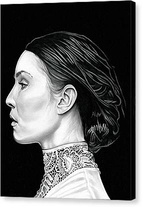 Prometheus - Noomi Rapace Canvas Print by Fred Larucci