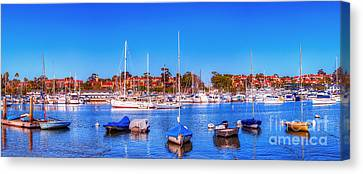 Canvas Print featuring the photograph Promontory Point - Newport Beach by Jim Carrell