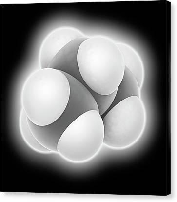 Propane Molecule Canvas Print