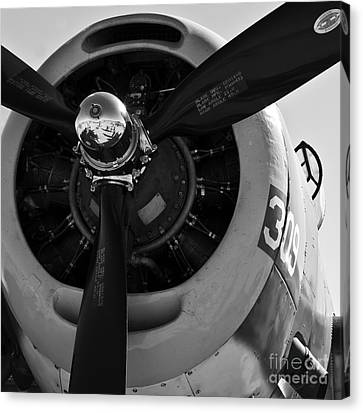 Propeller Canvas Print by Kirt Tisdale