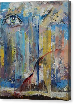 Prophet Canvas Print by Michael Creese