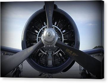 Canvas Print featuring the photograph Props by Laurie Perry