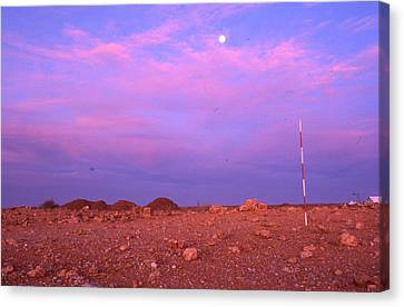 Canvas Print - Prospecting Rod South Africa 1996 by Rolf Ashby