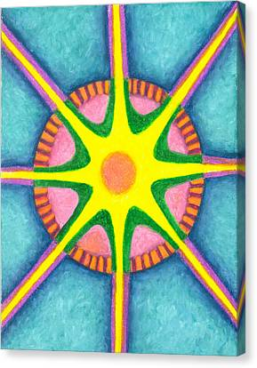 Prosperity Mandala Canvas Print