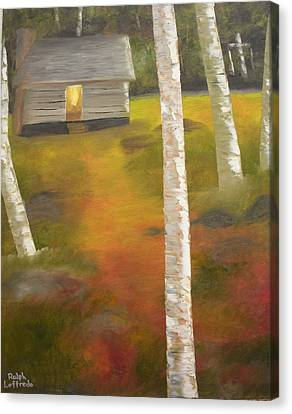 Protecting The Homestead Canvas Print by Ralph Loffredo