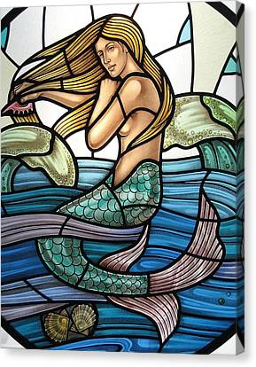 Protection Island Mermaid Canvas Print