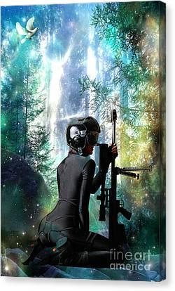 Protection Canvas Print by Tammera Malicki-Wong